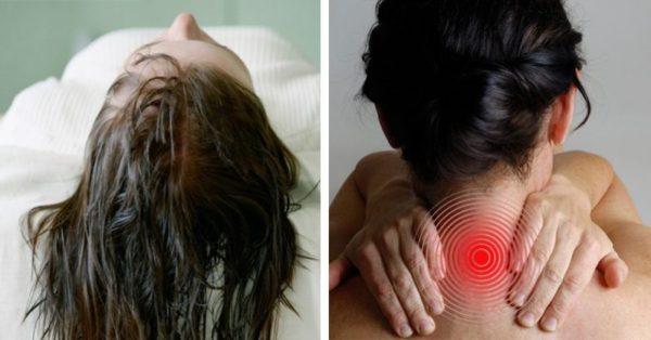 6 problémů a onemocnění, které si můžete způsobit, pokud budete chodit spát pravidelně s mokrou hlavou.